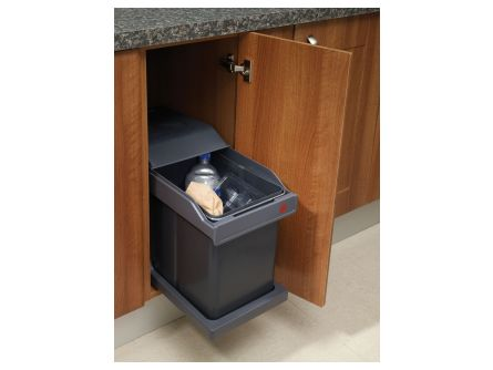 Pull Out Kitchen Waste Bins - 20 litres