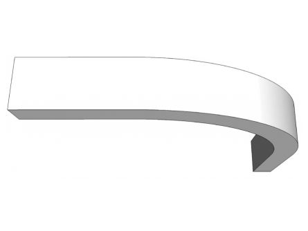 Broadoak Curved Light Pelmet