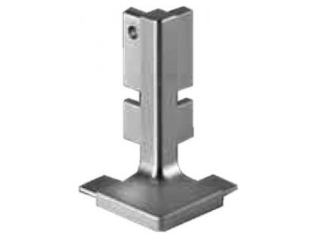 Top Rail External Corner 90° for True Handleless rails in base cabinets