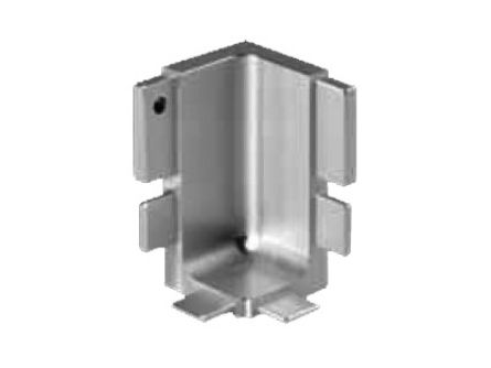 Top Rail Internal Corner 90° for True Handleless rails in base cabinets