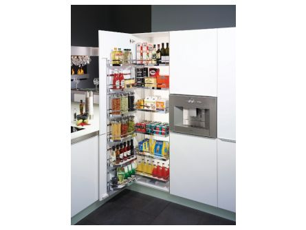 Arena Style Tandem Kitchen Larder Pull-Out