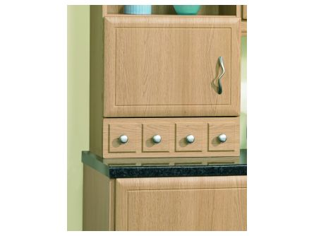596mm Mock Spice Drawer Front