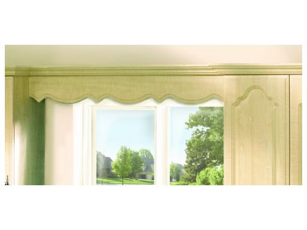 Scalloped Pelmet