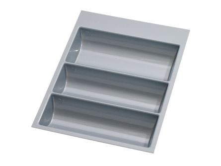 Single Drawer Plastic Cutlery Tray