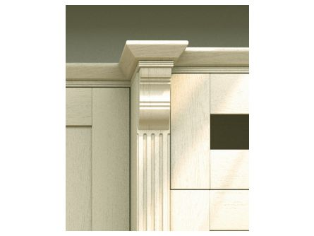 Wilton Kitchen Tangent Cornice