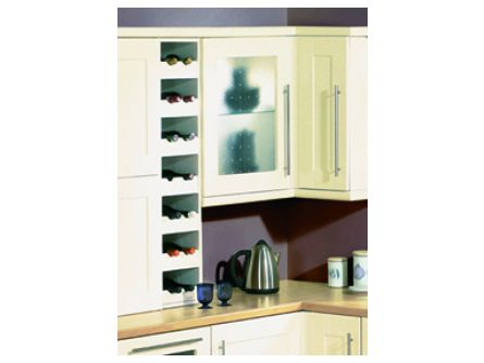 Kitchen unit Wine Rack Rail Front Only
