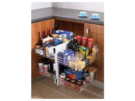Blind Corner Kitchen Storage Unit