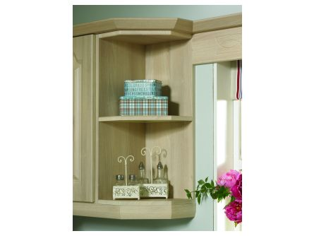 Bella 900mm Wall End Shelf Unit - vinyl finish