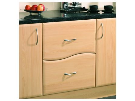 Bella 496mm Wave Design 2 Drawer Pack