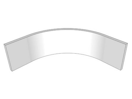 Remo Internal Curved Plinth