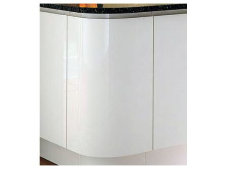 Unique 300mm curved door