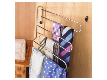 3 Tier Tie and Belt Rack