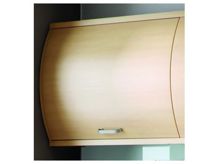Bella Horizontal Curved Door