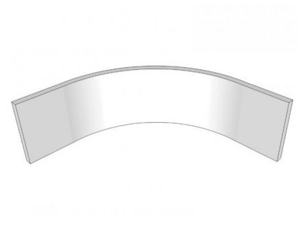 Porter Internal Curved Plinth