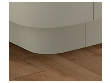 Firbeck External Curved Kitchen Plinth