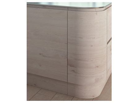 Malton Curved Kitchen Plinth