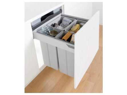 Wesco Pullboy Z 84L 600mm - 4 bins