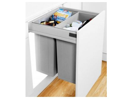 Wesco Pullboy Z 84L 600mm - 2 bins
