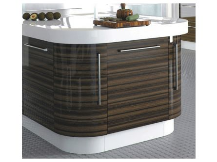Zurfiz Curved Kitchen Door 715mm