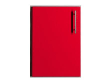 Astra Red Bedroom Doors