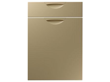 Scoop design kitchen door and drawer