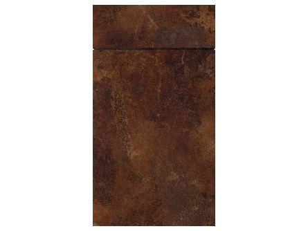 Gravity Ceramic Rust kitchen door