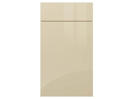 Gloss Cashmere Gravity acrylic kitchen door