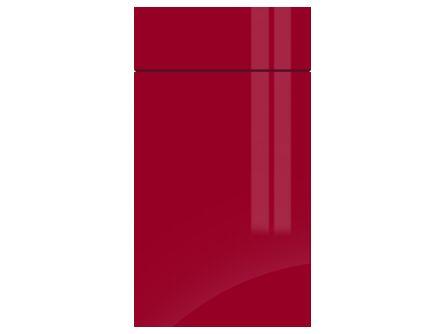 Gravity Gloss Chilli Red kitchen door