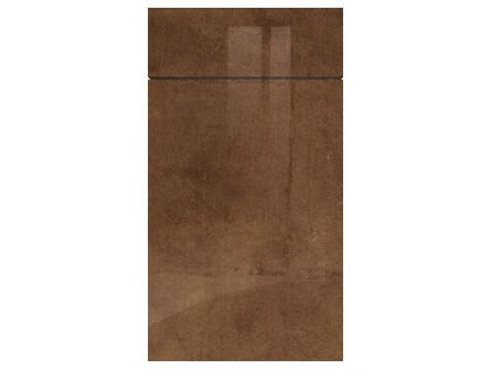 Gravity Gloss Copperleaf door and drawer