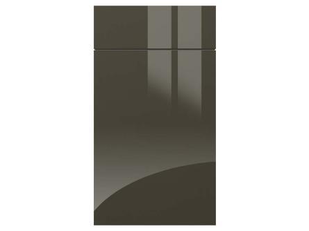 Metallic Anthracite acrylic kitchen door