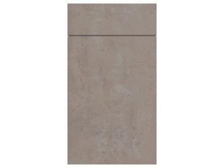 Gravity Ceramic Light Concrete Kitchen Door & Drawer