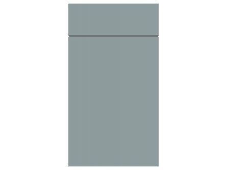 Gravity Matt Fjord Green kitchen door/drawer