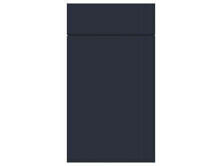 Gravity Matt Indigo Blue door and drawer