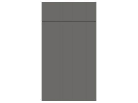 Gravity Matt Onyx Grey door and drawer