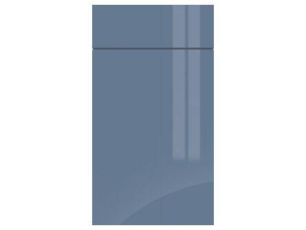 Gravity Gloss Smoke Blue kitchen door/drawer