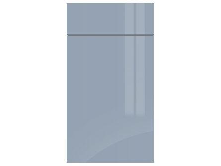 Gravity Gloss Denim Blue kitchen door/drawer