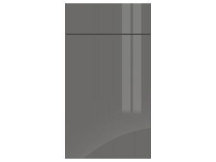 Gravity Gloss Onyx Grey door and drawer