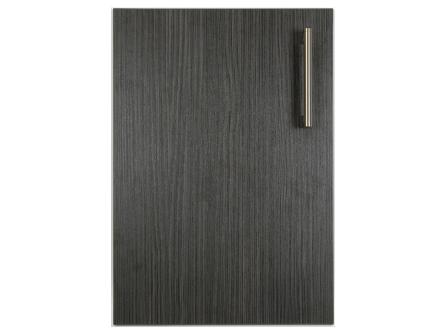 Hacienda Black replacement bedroom door