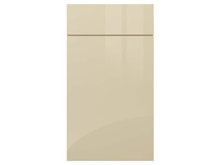 Zurfiz ultragloss cashmere kitchen door