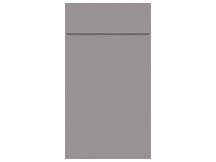 Zurfiz Ultramatt Metallic Basalt door and drawer