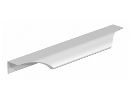 Stainless Steel Effect Scalloped Trim Handle