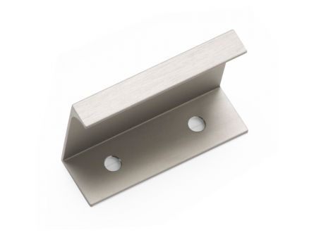 Aston Rear Fixed Handle - Brushed Satin Nickel