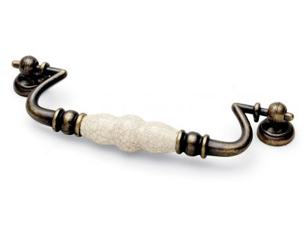 Winchester Drop Handle - Ancient Cream