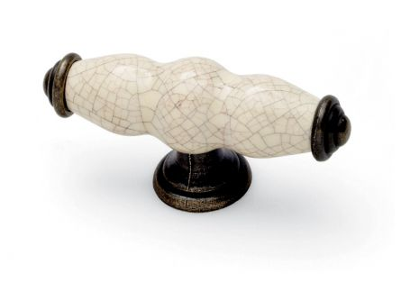 Winchester 'T' Bar Knob - Antique Cream