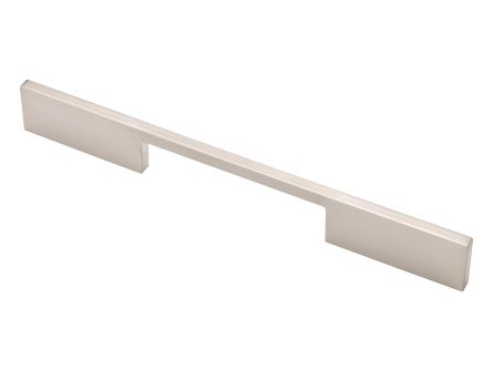 Cortar Centre Handle - Brushed Nickel