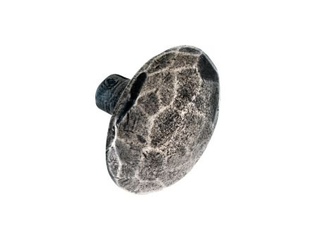 Solid Pewter Tortoise Shell Kitchen Knob