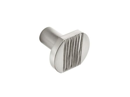 Stainless Steel Textured Centre Knob
