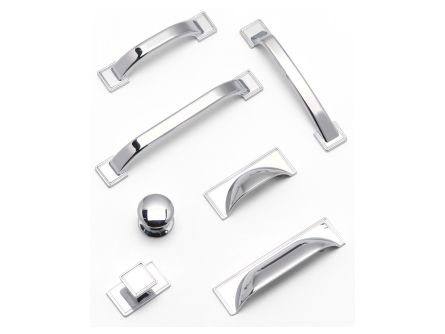Windsor Handle Set in Chrome Finish