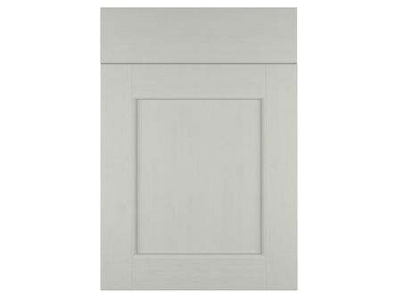 Allestree Beaded Light Grey Kitchen Door