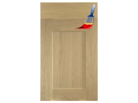 Mornington Shaker Sanded Kitchen Door - Paintable
